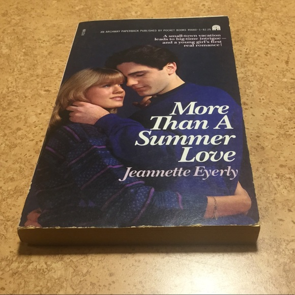 More Than a Summer Love paperback book